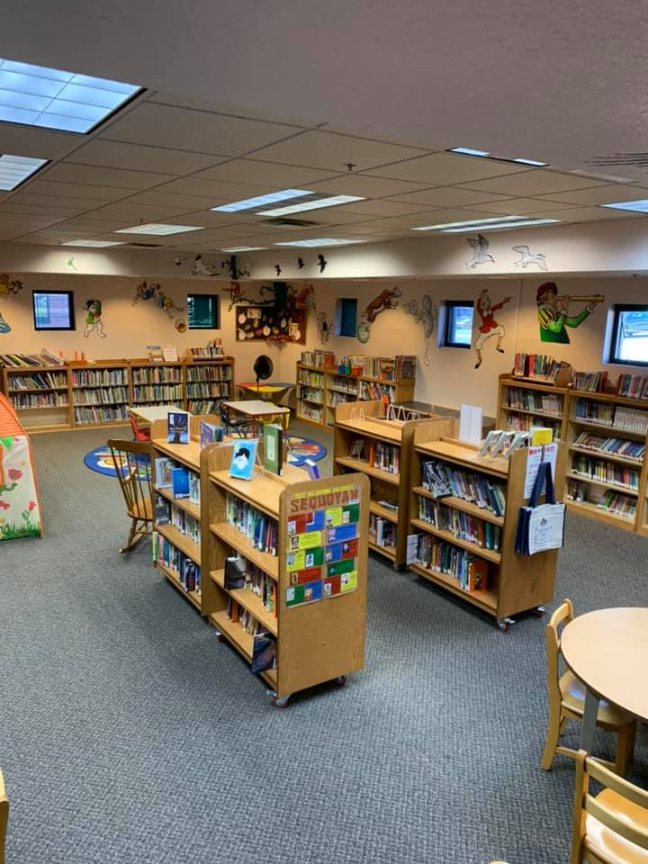 Children's Area of the Fairview City Library
